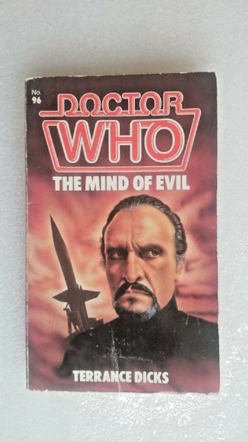 Doctor Who-Mind of Evil by Terrance Dicks (Paperback, 1985)